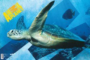 Настольная подложка для письма 60х40см Animal Planet AP15-212K