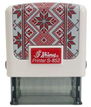 Оснастка для штампа 38х14мм Вышиванка SHINY