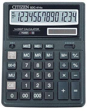 Калькулятор 14 разрядов, бухгалтерский SDC-414