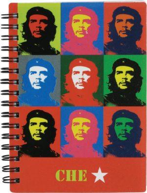 Блокнот детский А6, 80 л. Che Guevara CG15-226K пластиковая обложка