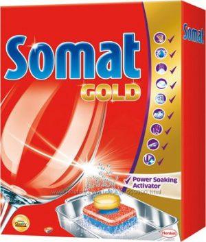 Таблетки для посудомоечных машин SOMAT GOLD, 12шт