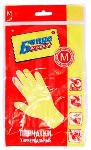 Перчатки для уборки Бонус