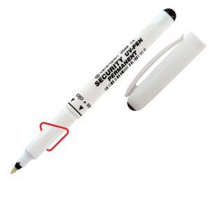 Маркер ультрафиолетовый Security UV Pen, 1мм с фонариком!