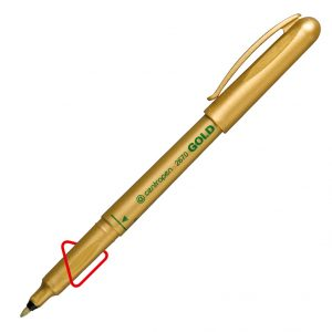 Маркер GOLD, арт.2670/12, толщина линии 1мм, золотой