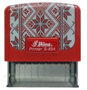 Оснастка для штампа 58х22мм Вышиванка SHINY