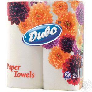 Туалетная бумага ДИВО, 2-х слойная, 4шт/уп, белая