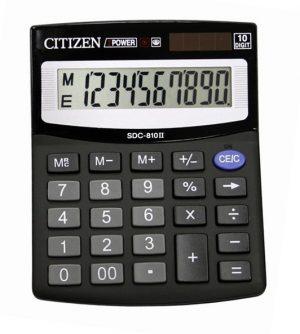 Калькулятор Citizen SDC-810B, 10 разрядов