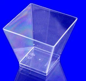 Пиала прозрачная PS-19988, 4,5х4,5х5см, 50шт