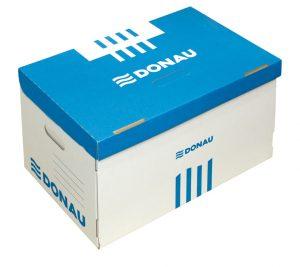 Короб для архивных боксов, синий