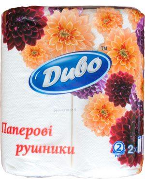 Бумажные полотенца ДИВО Обухов, 2рул.