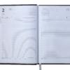 Ежедневник датированный 2021 VIENNA, A5, черный 19655