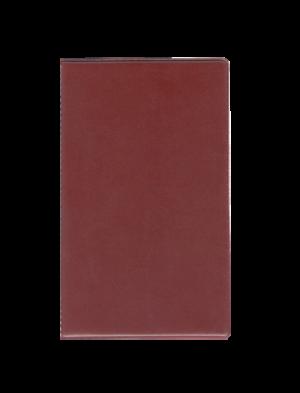 Папка для счета официанта, винил, бордовый