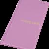 Визитница на 96 визиток, обложка PVC, розовая