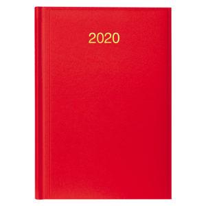 Ежедневник датированный BRUNNEN 2020 СТАНДАРТ MIRADUR, ярко-красный