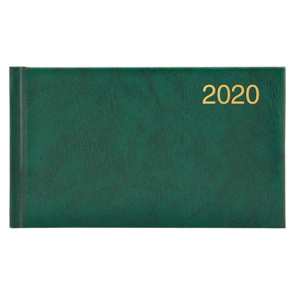 Еженедельник карманный датированный BRUNNEN 2020 Miradur зеленый