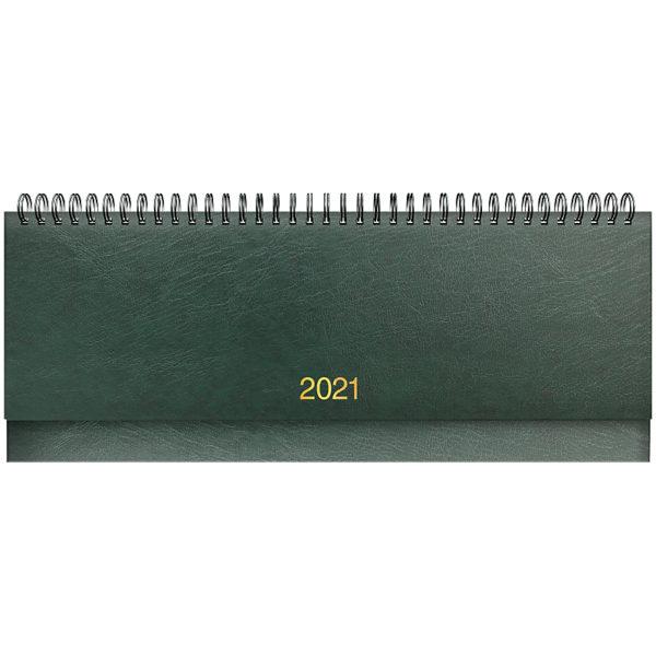 Планинг датированный BRUNNEN 2021 MIRADUR, зеленый