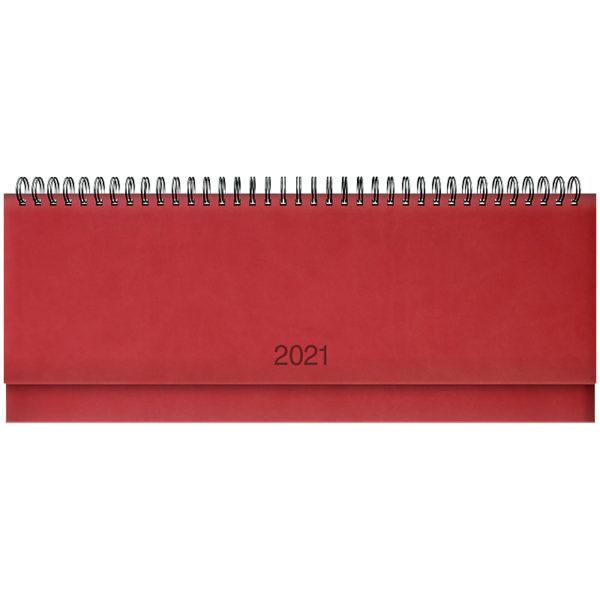 Планинг датированный BRUNNEN 2021 TORINO, красный