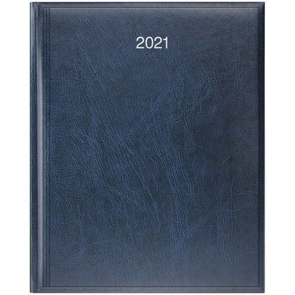 Еженедельник датированный А4 BRUNNEN 2021 БЮРО MIRADUR синий