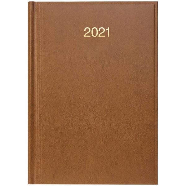 Ежедневник датированный BRUNNEN 2021 СТАНДАРТ MIRADUR, коричневый