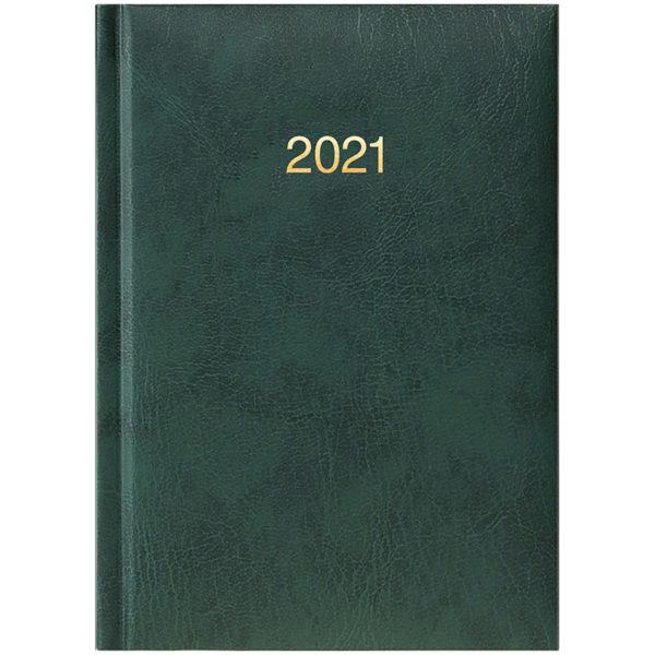 Ежедневник карманный датированный BRUNNEN 2021 MIRADUR, зеленый