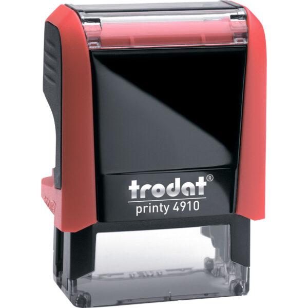 Оснастка для штампа 26х9мм TRODAT, красный корпус