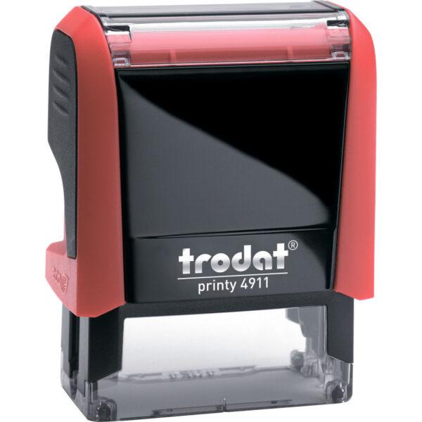 Оснастка для штампа 38х14мм TRODAT, красный корпус