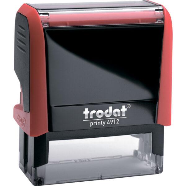 Оснастка для штампа 47х18мм TRODAT, красный корпус