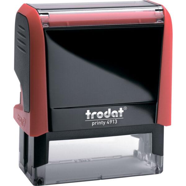 Оснастка для штампа 58х22мм TRODAT, красный корпус