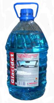 Средство для мойки автостекла GLACIDET-СУПЕР 4л, до -70С