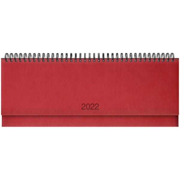 Планинг датированный BRUNNEN 2022 TORINO, красный