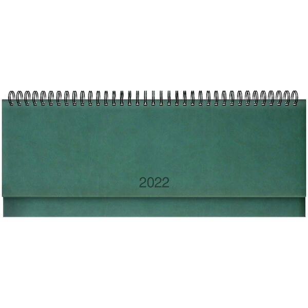 Планинг датированный BRUNNEN 2022 TORINO, зеленый