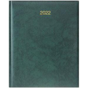 Еженедельник датированный А4 BRUNNEN 2022 БЮРО MIRADUR зеленый