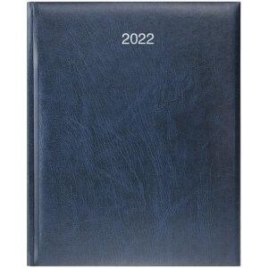 Еженедельник датированный А4 BRUNNEN 2022 БЮРО MIRADUR синий