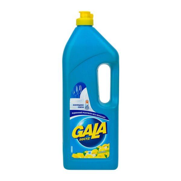Средство для посуды GALA, 1 литр, с дозатором, в ассортименте