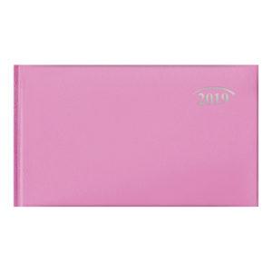 Еженедельник 2019 Brunnen карманный датированный MIRADUR розовый