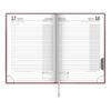 Ежедневник датированный BRUNNEN 2021 СТАНДАРТ FLEX, бордовый, гибкий 19548
