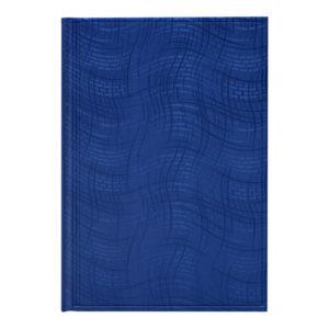 Ежедневник А5 недатированный АГЕНДА WAVE синий