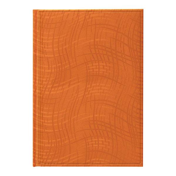 Ежедневник А5 недатированный АГЕНДА WAVE оранжевый