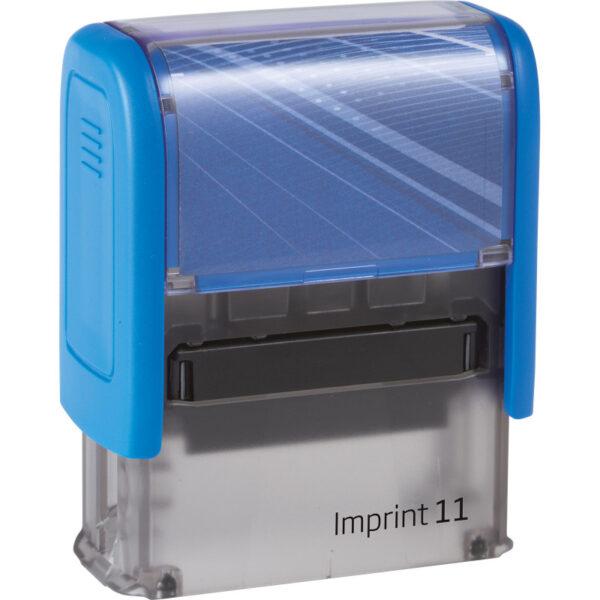 Оснастка для штампа 38х14мм IMPRINT-11, синий корпус