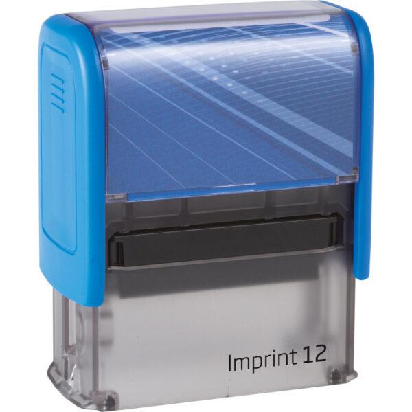 Оснастка для штампа 47х18мм IMPRINT-12, синий корпус