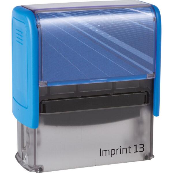 Оснастка для штампа 58х22мм IMPRINT-13, синий корпус