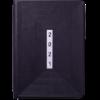 Ежедневник датированный 2022 MEANDER A5, черный, черный торец