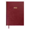 Ежедневник датированный 2022 STRONG, А5, твердая обложка, бордовый