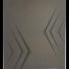 Блокнот  А5, 48 листов, Monochrome JOBMAX, пружина сверху, клетка 22727