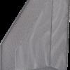 Лоток вертикальный, 355х245х80мм, металлический, черный и серебряный 23266