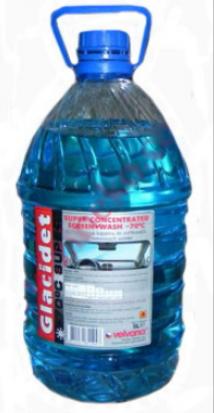 Средство для мойки автостекла GLACIDET 4,5л, до -30С