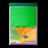 Набор цветного гофрокартона  А4 НЕОН, 6 цветов, 6  листов, рельефный
