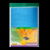 Набор цветного гофрокартона  А4  ФОЛЬГА, 10 цветов, 10  листов, рельефный