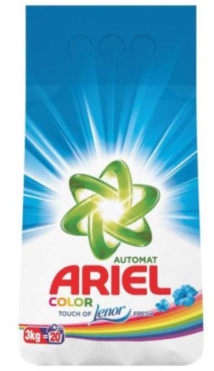 Стиральный порошок ARIEL автомат, 3кг в ассортименте
