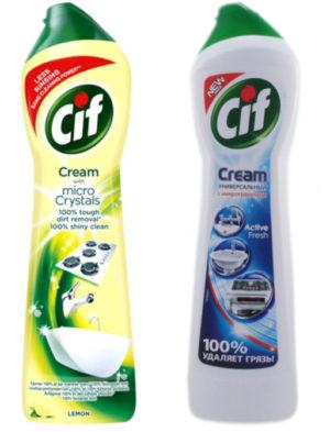 Крем для чистки CIF, 500мл в ассортименте